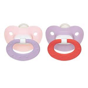 baby shower pacifiers orthodontic pacifier girl 0 6 months 2 pack
