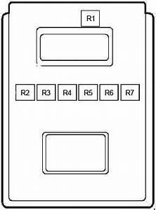 Ford Fiesta  1997 - 2002  - Fuse Box Diagram