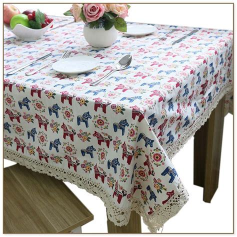 Fitted Vinyl Tablecloths For Rectangular Tables