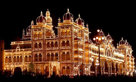 Mysore Palace  The Unique Blend Of Different Styles Of