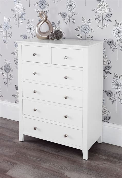 Brooklyn White Bedroom Furniture,white Chest Of Drawers