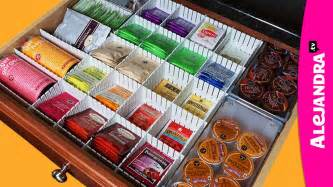 kitchen drawer organization ideas kitchen organization ideas how to organize coffee tea