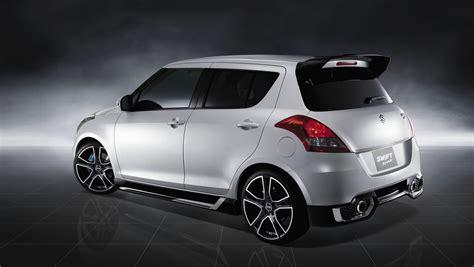 suzuki swift sport hot concept headed  sydney motor