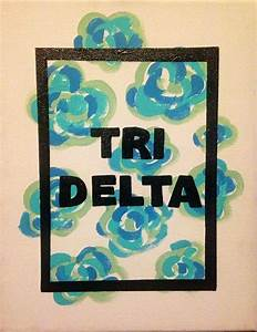 8 x 10 made to order canvas anything can be written With where to buy sorority letters