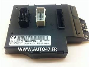 Reparation Boitier Bsi : uch renault vehicule trafic reference p8200790995 alzgo fr ~ Gottalentnigeria.com Avis de Voitures