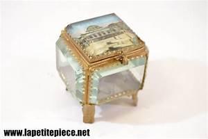 Boite A Bijoux En Verre : boite coffret bijoux en verre laiton vichy le casino ~ Farleysfitness.com Idées de Décoration