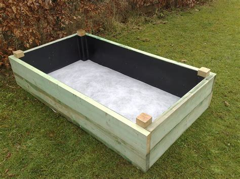 Vegetable Planter Boxes Planter Box With Liner On And