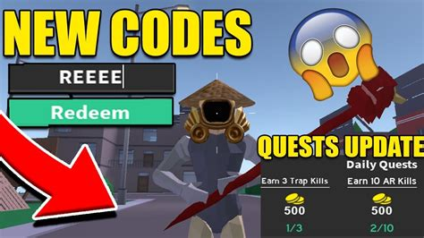 strucid update  codes  daily quests update