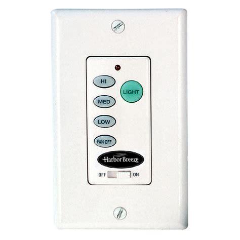 fan light combo switch shop harbor breeze 1 25 amp 300 watt white combination