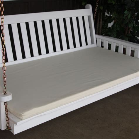 swingbed cushion 75 4 inch thick 187 amish woodwork