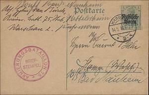 Deutsche Post Berlin öffnungszeiten : deutsche post in polen postkarte p 1 warschau 14 mit bs armierungs batl philmaster ~ Orissabook.com Haus und Dekorationen