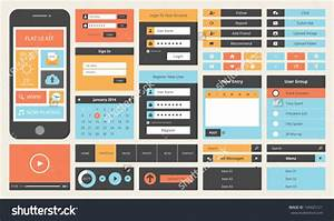 13  Flat Ui Buttons Download