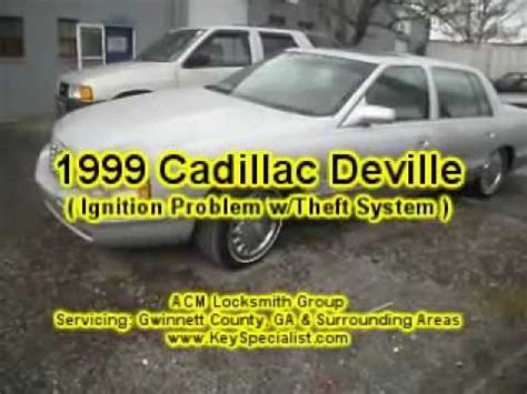 electronic throttle control 1999 cadillac deville navigation system atlanta ga 1999 cadillac deville ignition system problem repaired youtube