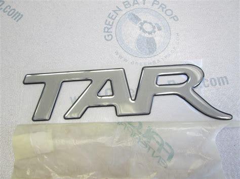 Bayliner Boat Emblems by Starcraft Boat Emblem Logo Raised Letters Tar 2 25 In