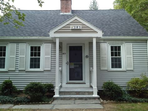 Front Entry Portico   Traditional   Exterior   Boston   by