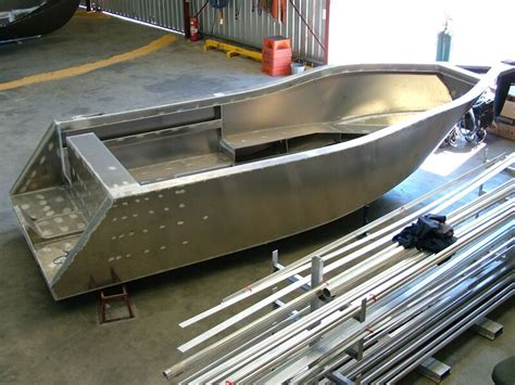 Aluminum Fishing Boat Project by Plate Alloy Boats Offshore Fishing Boat Aluminum