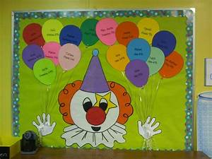 17 best images about birthday bulletin board on pinterest for Birthday bulletin board templates