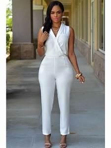 Combinaison Femme Noir Et Blanc : combinaison femme elegante ~ Melissatoandfro.com Idées de Décoration