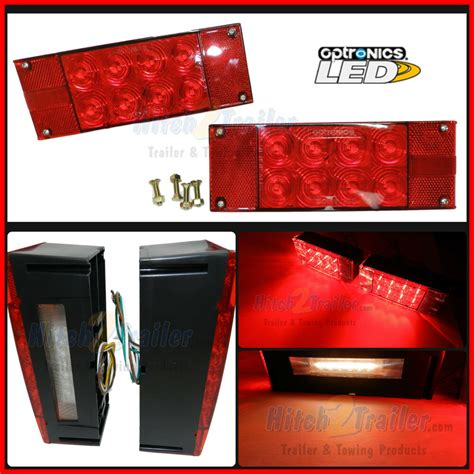 Led Submersible Trailer Lights by Trailer Led Light Stud Mount Optronics Submersible