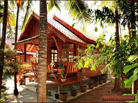 Tropical Traditional Home by Tropical House Design Thailand Traditional Houses In