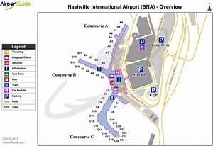 Nashville Airport Terminal Map