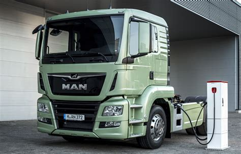 charged evs man  test electric semitrailer trucks