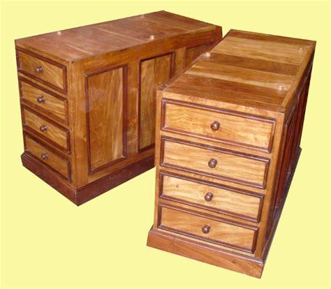 caissons bureau caisson de bureau en teck