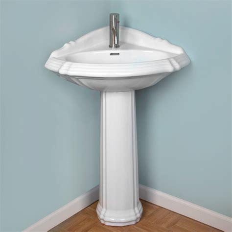 pedestal sinks for small bathrooms corner pedestal sinks for small bathrooms home design