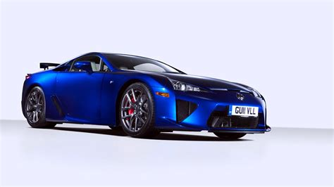 Hd Wallpaper Blue Car by Blue Car Lexus Lfa Wallpapers Hd Desktop And Mobile