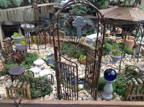 Garden Accessories miniature garden accessories oak garden shop and