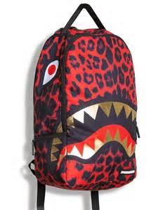Sprayground Leopard Shark Backpack