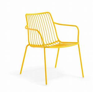 Garten Lounge Möbel Metall : sessel gelb metall mit armlehne stapelbar garten sessel lounge aus metall sessel outdoor ~ Markanthonyermac.com Haus und Dekorationen