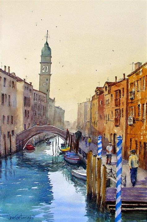 Watercolor Paintings Venice Galleryvenice Italy Watercolour