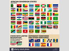 Flags of African States Stock Vector Art & Illustration