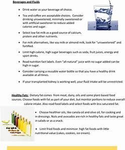 Owner U0026 39 S Manual  Nutrition Care For Your Kidney Transplant