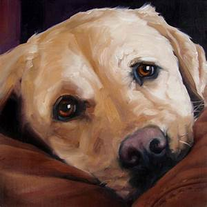 BigLove Moose custom Pet Portrait Oil Painting by ...