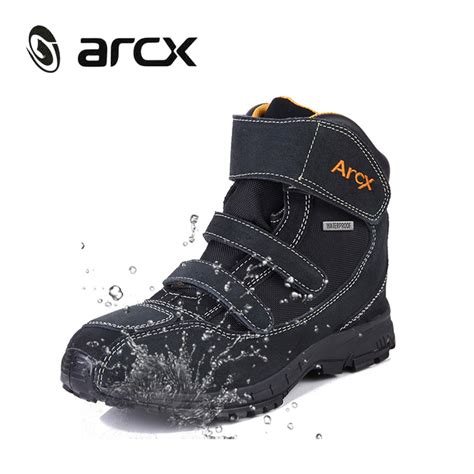 buy motorcycle waterproof boots buy arcx motorcycle riding boots genuine cow suede leather