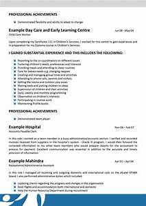 we can help with professional resume writing resume With child care resume sample no experience