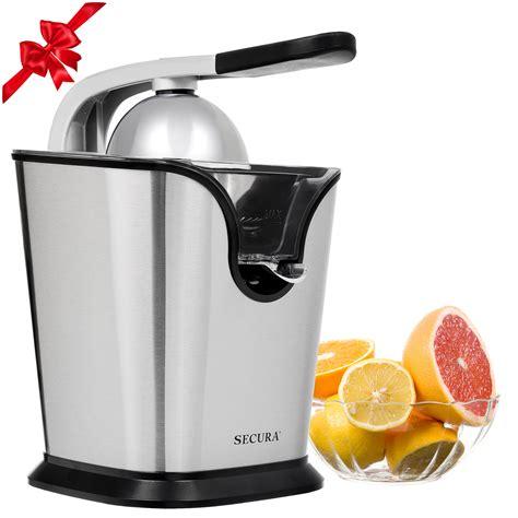 juicer citrus juice orange electric squeezer press steel stainless watt amazon policy