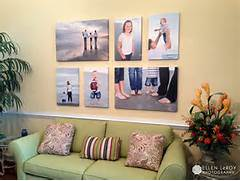 Cheap Wall Canvas Prints Idea Photo Wall Display Ideas Click It Up A Notch