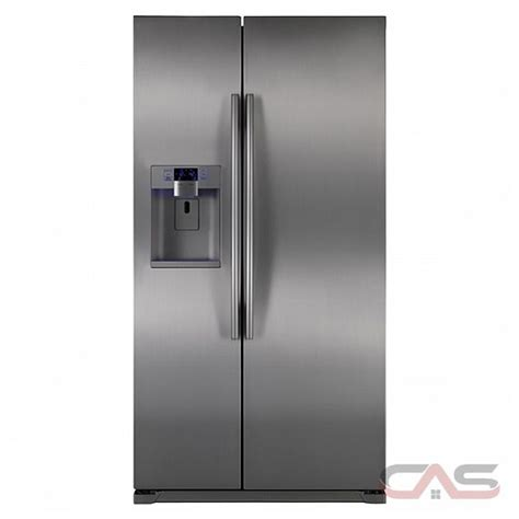 samsung counter depth refrigerator canada samsung rsg257aars 25 cu ft side by side counter depth