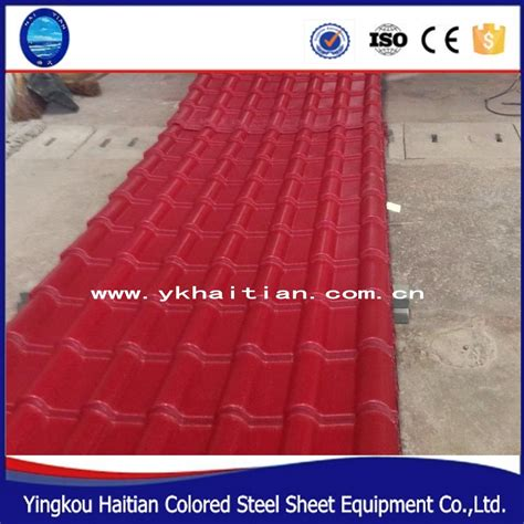 manufacturers in china pvc plastic roof tile pvc