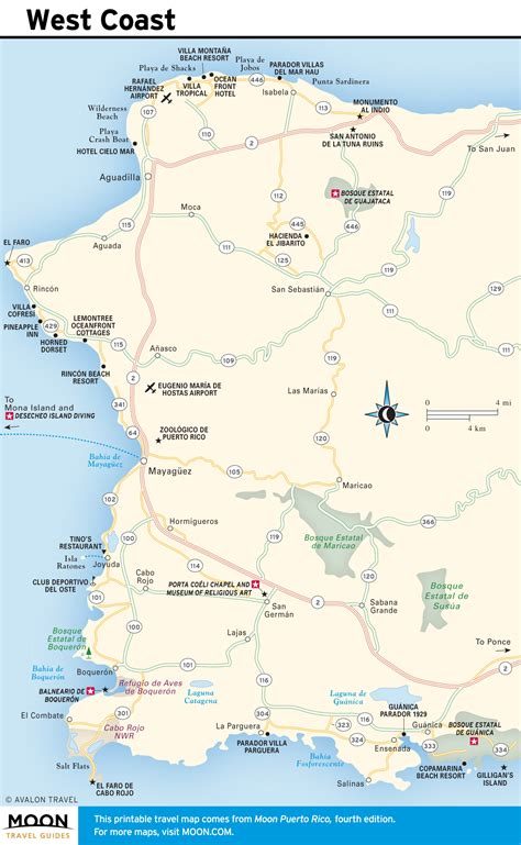maps of puerto rico free printable travel maps from moon