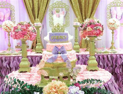 Unicorn Garden Decoration by Princess And Garden Baby Shower Quot Princess Garden
