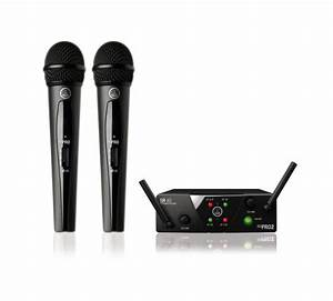 Akg Wms40 Mini2 Dual Vocal Handheld Microphone Wireless System
