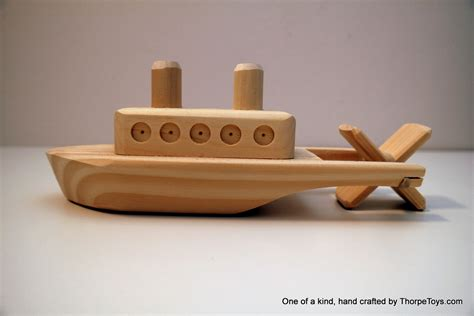 Wooden Boat Paddle by Showboat Thorpe Toys