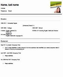 Bewerbung Ferienjob Student : lebenslauf auf englisch student kostenlose vorlage ~ Eleganceandgraceweddings.com Haus und Dekorationen
