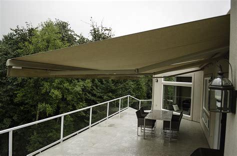 retractable deck awnings rainier shade