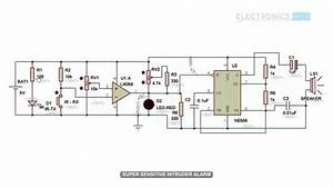 Car Alarm Circuit Diagram