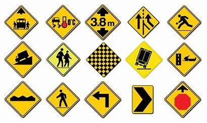 Signs Warning Road Traffic Property